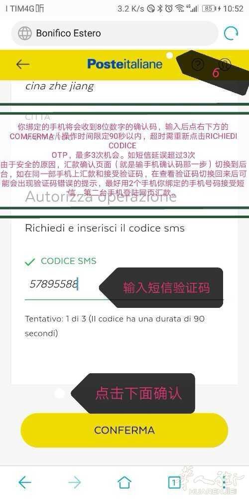 意大利邮局黑卡汇款中国最新中文教程   2018年11月更新版
