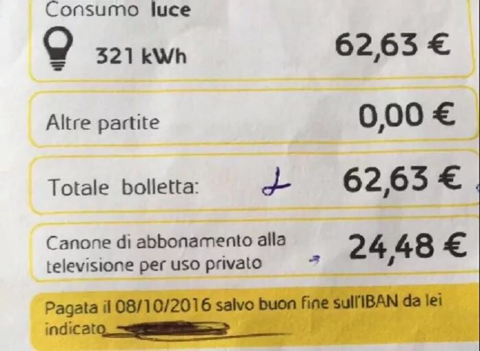 如何在意大利看懂电费单?小编带你详细解释意大利电费… 生活百科 第22张