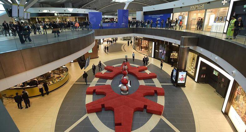 意大利首家! 罗马菲乌米奇诺机场可使用微信购物了! 意国新闻 第1张