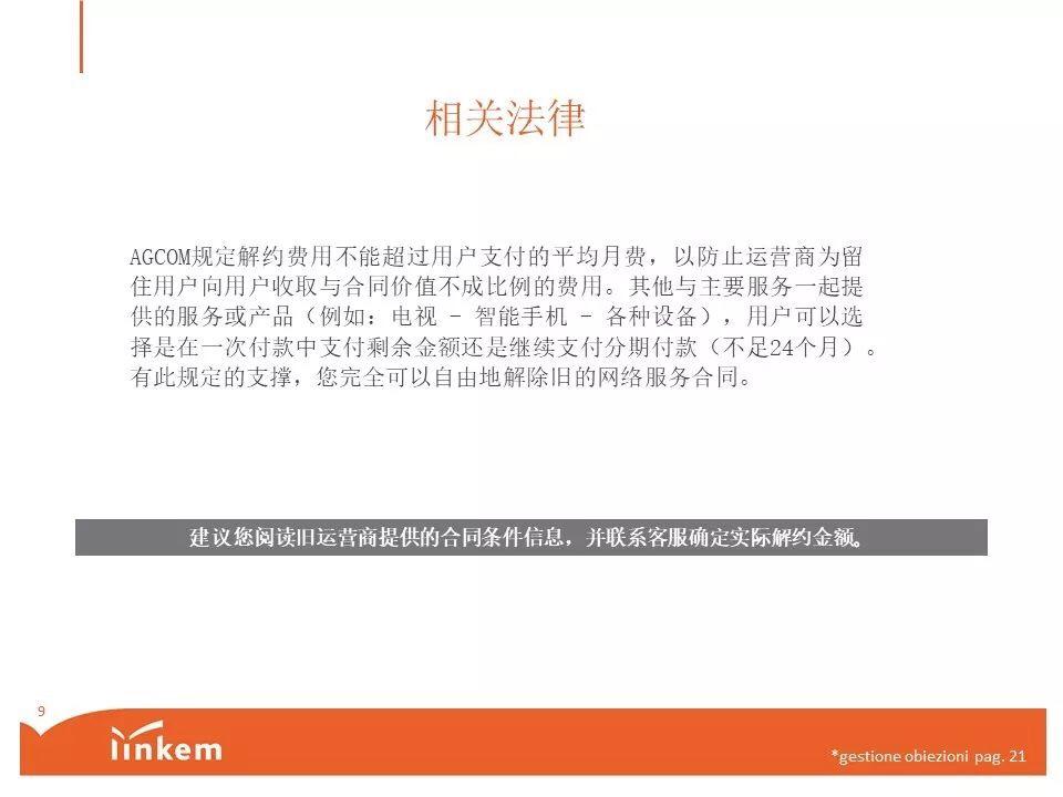 Linkem特殊套餐立减40块钱(只限于新用户IBAN支付方式) 意国杂烩 第9张