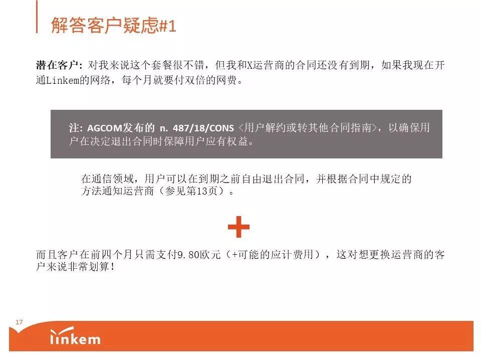Linkem特殊套餐立减40块钱(只限于新用户IBAN支付方式) 意国杂烩 第17张