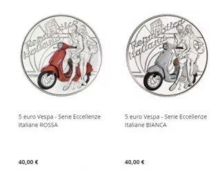 快看!意政府发行了一套5欧元硬币! 意国新闻 第1张
