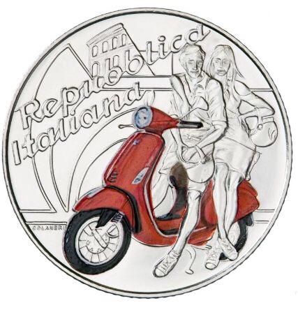 快看!意政府发行了一套5欧元硬币! 意国新闻 第3张