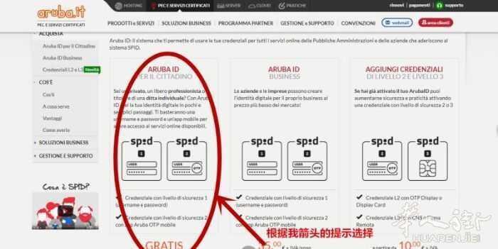 教你如何申请意大利政府部门SPID电子身份 ARUBA官方网站教程 生活百科 第4张