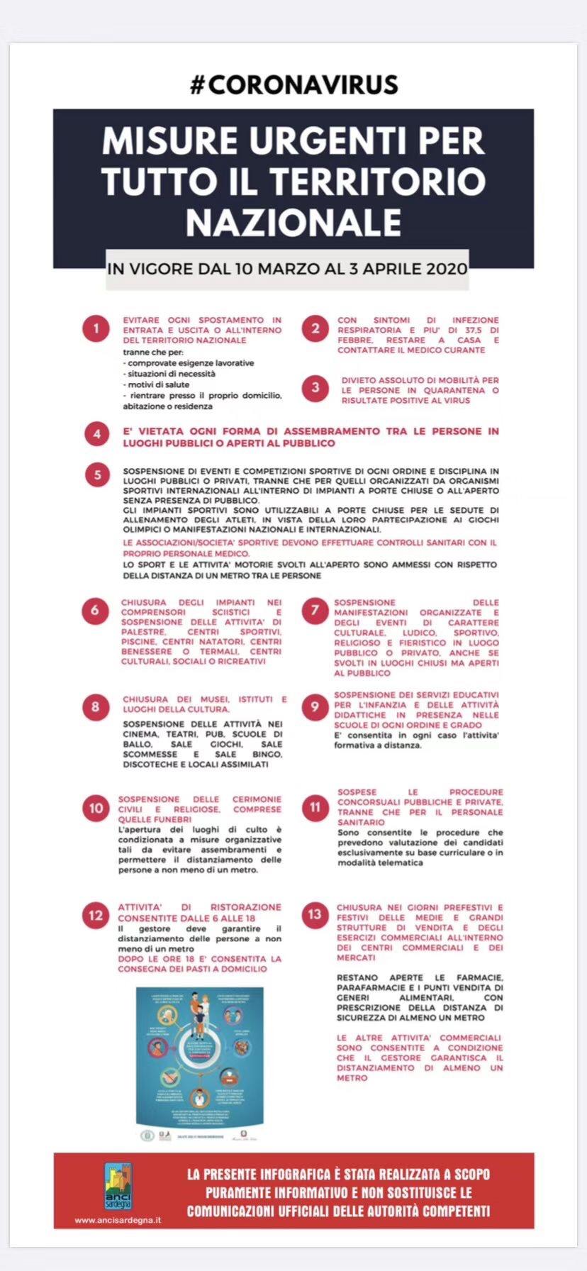 驻意大利使馆   :关于请遵守全意范围内限制出行法令的温馨提示 意国杂烩 第2张