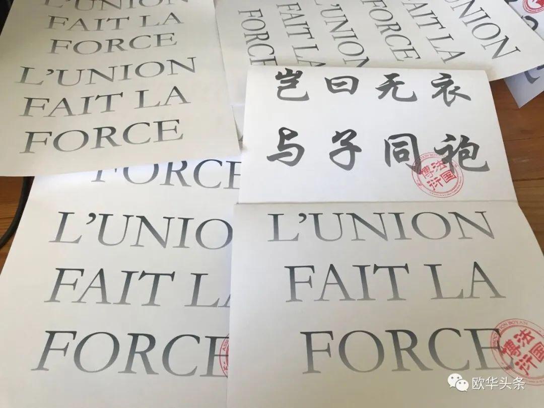 传播汉文化! 欧洲各大汉文化协会携手国内同袍为疫情在行动! 意国杂烩 第3张