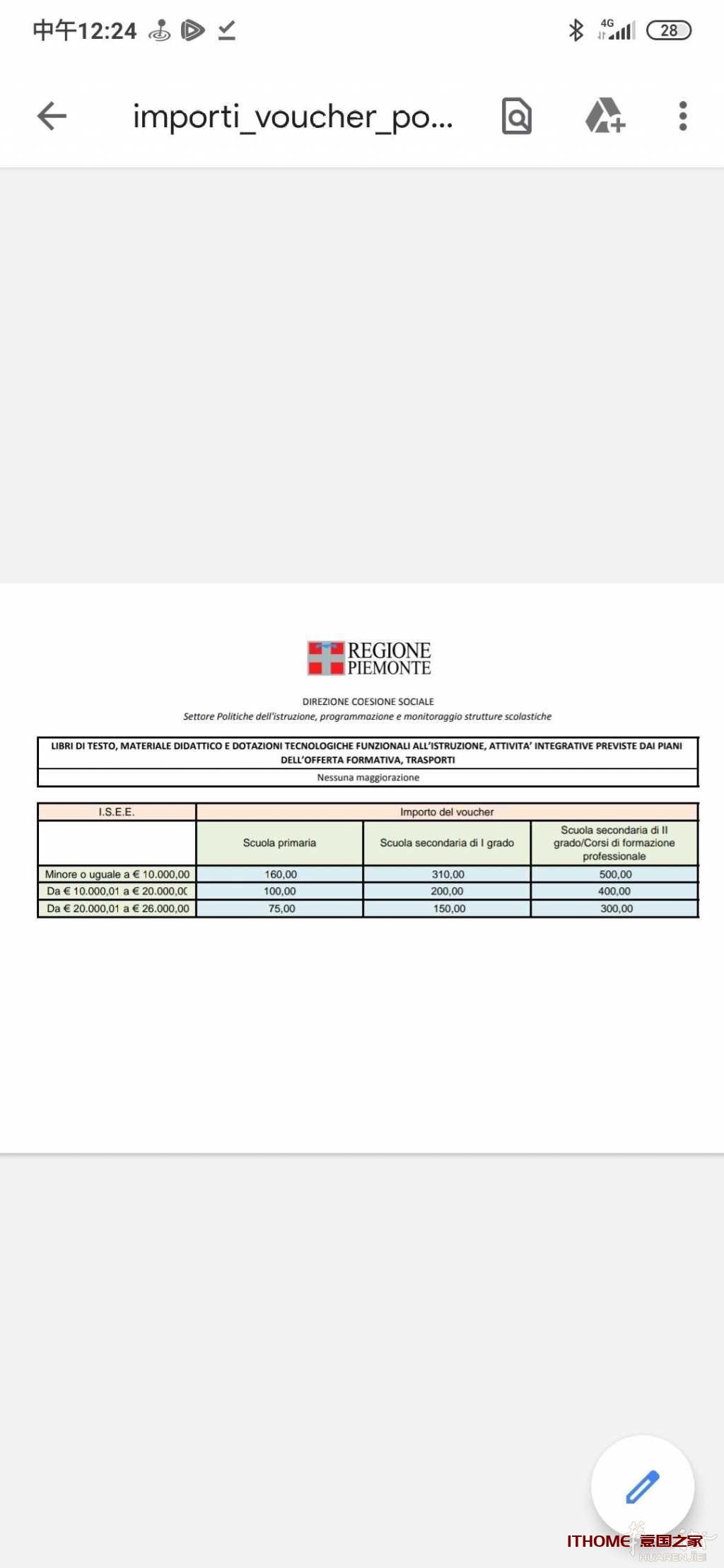 意大利教育补贴2020/2021申请步骤 生活百科 第4张