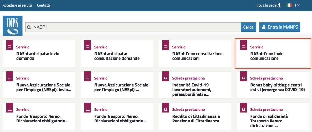 手把手教你申请领取意大利的失业保障金 生活百科 第2张