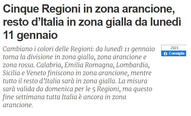 下周意大利5个大区被划为橙区!包括伦巴第!第三波疫情或许已经到来? 意国新闻 第1张